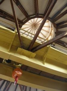 Derby College roundhouse lantern